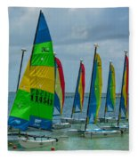 Nautical Travel Fleece Blanket