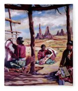 Navajo Weavers Fleece Blanket