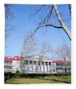 Naval Square - Philadelphia Pa Fleece Blanket