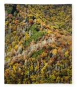 Nc Fall Foliage 0543 Fleece Blanket