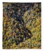 Nc Fall Foliage 0544 Fleece Blanket