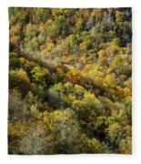 Nc Fall Foliage 0545 Fleece Blanket