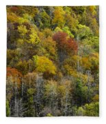 Nc Fall Foliage 0561 Fleece Blanket