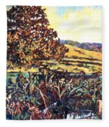 Near Childress Fleece Blanket
