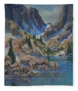 Near Hayden Spires Fleece Blanket