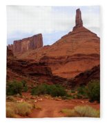 Near Moab 5 Fleece Blanket