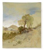 Near San Francisco, Mexico, March 1, 1883 Fleece Blanket