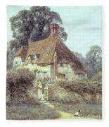 Near Witley Surrey Fleece Blanket