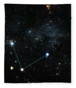 Nearest Exoplanet, Hd 219134 System Fleece Blanket