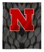 Nebraska Cornhuskers Uniform Fleece Blanket