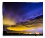Nebraska Night Beast 021 Fleece Blanket