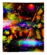 Nebula Collision Course Fleece Blanket