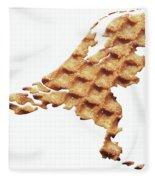 Nederland Stroopwafelland Fleece Blanket