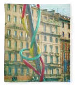 Needle And Thread Milan Italy Fleece Blanket
