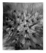 Negative Dandelion Fleece Blanket