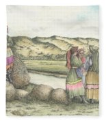 Negotiations Fleece Blanket