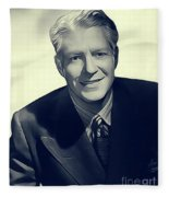 Nelson Eddy, Vintage Actor Fleece Blanket