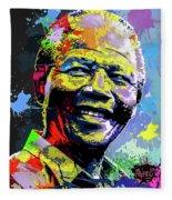 Nelson Mandela Madiba Fleece Blanket