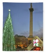 Nelson's Christmas Tree Fleece Blanket