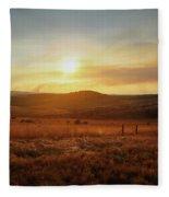 Nelspruit, South Africa Fleece Blanket