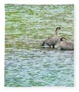 Nene Water Wings Fleece Blanket