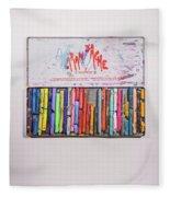 Neocolor II Fleece Blanket