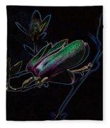 Neon Tulip Tree 5090 Fleece Blanket
