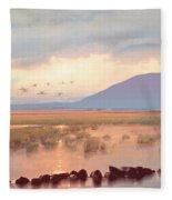 Nephin Dawn Fleece Blanket
