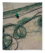Neptune Green Fleece Blanket