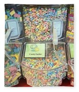 Nerds Smarties And More Candies Fleece Blanket