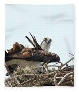 Nesting At Walmart Fleece Blanket