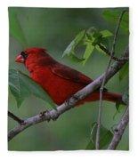 Nestled In The Trees Fleece Blanket