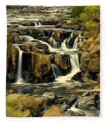 Nevada Falls 5 Fleece Blanket