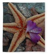 Never Forgotten- Starfish Art Fleece Blanket