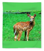 New Beginings  Fleece Blanket