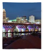 New Bridge Pano Fleece Blanket