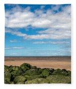 New Brighton Lighthouse  Fleece Blanket