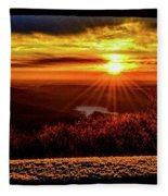 New  Day  Dawns Fleece Blanket
