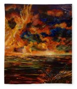 New Day Rising Fleece Blanket