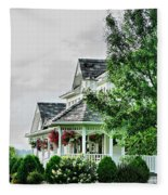 New England Beauty Fleece Blanket