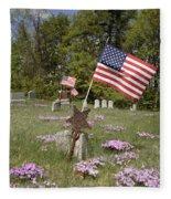 New England Graveyard Fleece Blanket