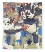 New England Patriots Rob Gronkowski 3 Fleece Blanket