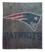 New England Patriots Translucent Steel Fleece Blanket