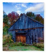 New Hampshire Barn Eaton Nh Fleece Blanket