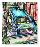 New Holland Workmaster 75 Tractor  2 Fleece Blanket
