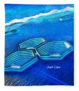 New Islands Fleece Blanket