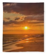New Jersey Has The Best Sunsets - Cape May Fleece Blanket