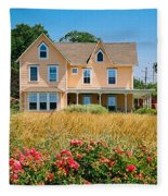 New Jersey Landscape Fleece Blanket