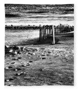 New Jersey Shore Fleece Blanket