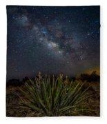 New Mexican Night Fleece Blanket